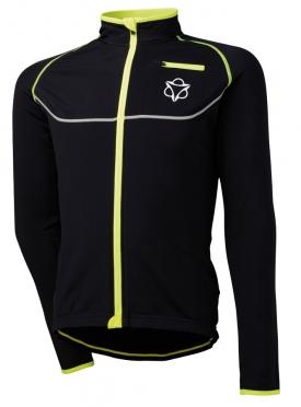 Agu Merano cycling jacket black/yellow (fluo) men
