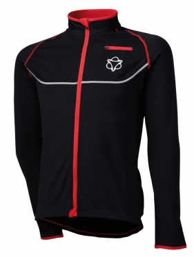 Agu Merano cycling jacket black/red men