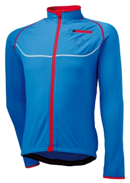 Agu Merano cycling jacket blue/red men