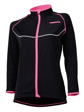 Agu Lana cycling jacket black/pink women