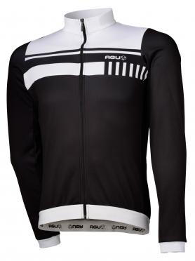 Agu Naro cycling jersey long sleeve black/white men