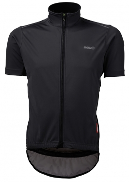 Agu Pioggia cycling jersey short sleeve black men