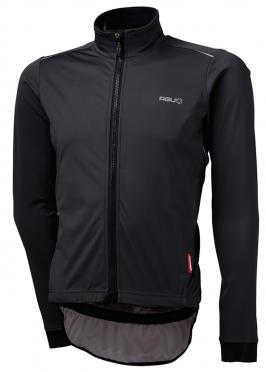 Agu Pioggia cycling jersey long sleeve black men