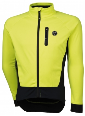Agu Tirano cycling jacket yellow (fluo) men
