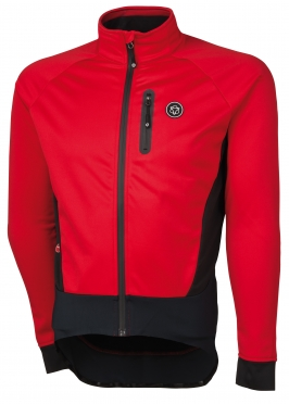 Agu Tirano cycling jacket red men