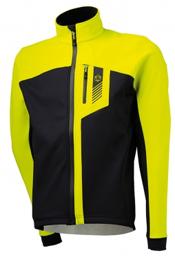 Agu Daiano cycling jacket yellow (neon) men