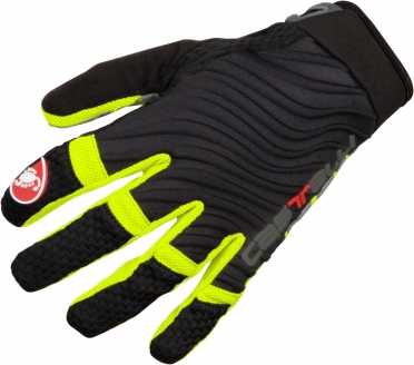 Castelli CW. 6.0 cross glove black/yellow-fluo men 11539-321