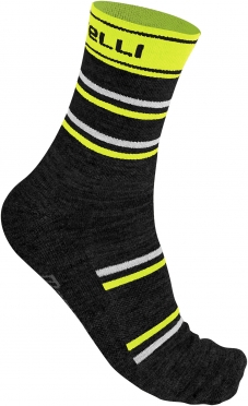 Castelli Gregge 12 sock yellow fluo men 11543-032
