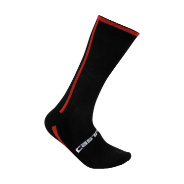 Castelli Venti sock black/red mens 13537-123
