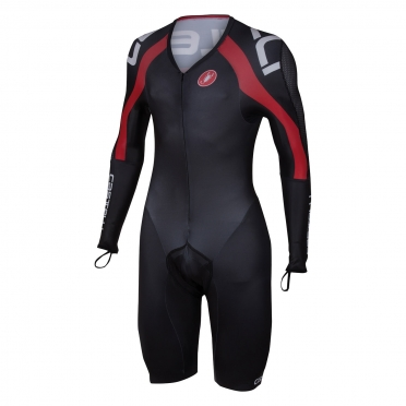 Castelli Body Paint 3.0 speed suit LS black/red men 14002-123