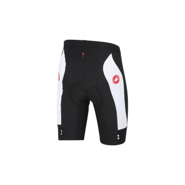 Castelli Evoluzione short black/white men 14009-101
