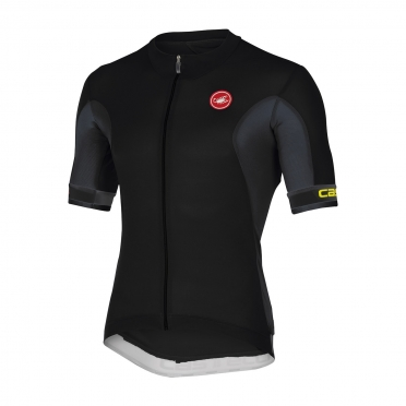 Castelli Volata jersey black/antracite men 14014-010