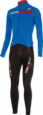 Castelli Sanremo 2 thermosuit black/blue men 14500-059