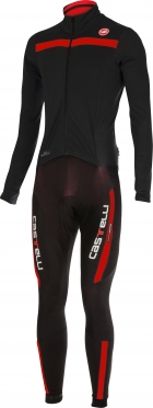Castelli Sanremo 2 thermosuit black/red men 14500-231