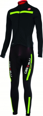 Castelli Sanremo 2 thermosuit black/yellow mens 14500-321