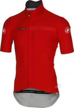 Castelli gabba 2 jacket short sleeve red mens 14511-023
