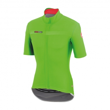 Castelli gabba 2 jacket short sleeve green mens 14511-038