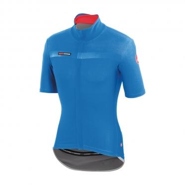 Castelli gabba 2 jacket short sleeve blue men 14511-059