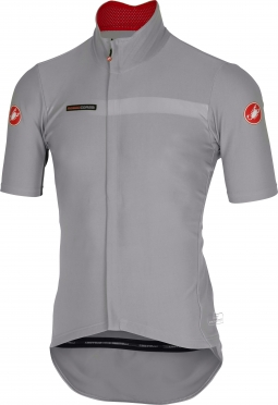 Castelli gabba 2 jacket short sleeve grey men 14511-080
