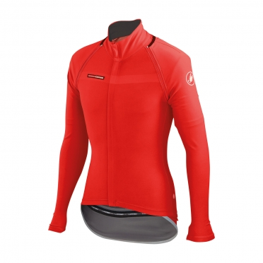 Castelli Gabba 2 convertible jacket red mens 14512-023