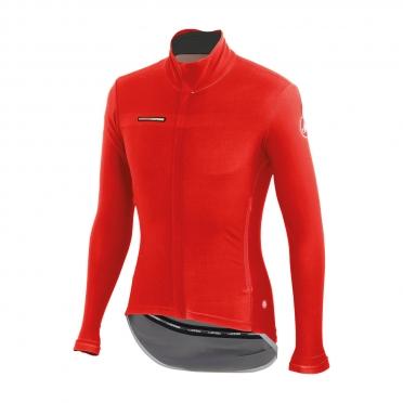Castelli Gabba 2 long sleeve jacket red mens 14513-023