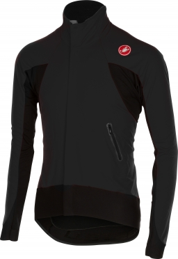 Castelli Alpha wind jersey FZ black mens 14516-010