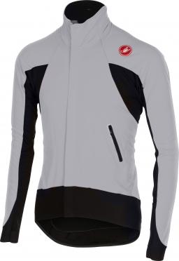 Castelli Alpha wind jersey FZ grey/black men 14516-080
