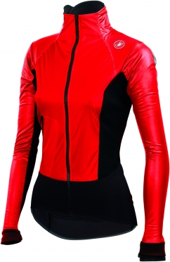 Castelli Cromo light W cycling jacket red/black ladies 14555-023