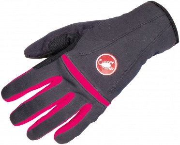 Castelli Cromo cycling glove anthracite/raspberry women 14571-911