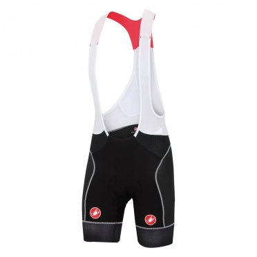 Castelli Free aero race bibshort black/white men 15003-101