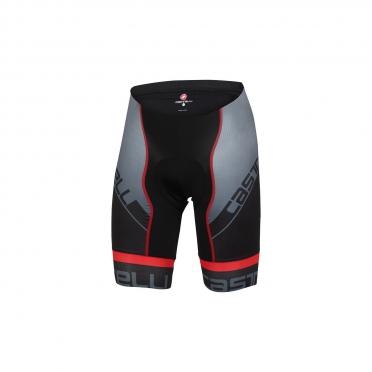 Castelli Volo short black/red men 15010-023