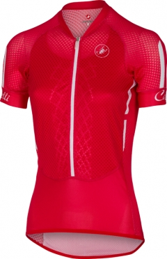 Castelli Climber's W jersey red/white/black women