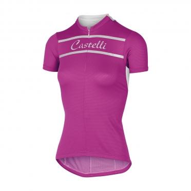 Castelli Promessa jersey magenta women 15052-028