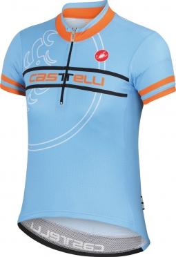 Castelli Segno kid jersey gulf race