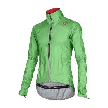 Castelli Tempesta race jacket green-fluo men 15510-045