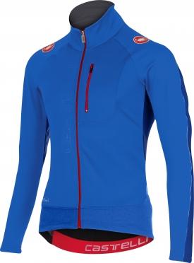 Castelli Trasparente 3 wind jersey FZ blue men 15525-059