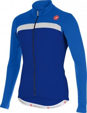 Castelli Criterium jersey FZ blue/white men 15528-057