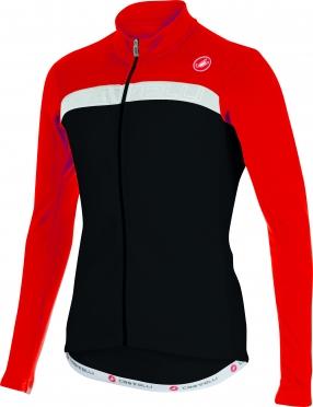 Castelli Criterium jersey FZ black/red/white men 15528-231