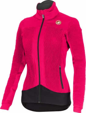 Castelli Elemento 2 7x(Air) W cycling jacket raspberry women 15557-011