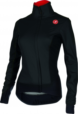 Castelli Alpha W cycling jacket black ladies 15558-010