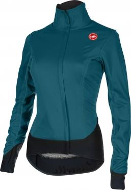 Castelli Alpha W cycling jacket deep ocean women 15558-078