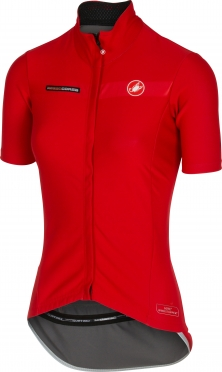 Castelli gabba W short sleeve jacket red women 15574-023