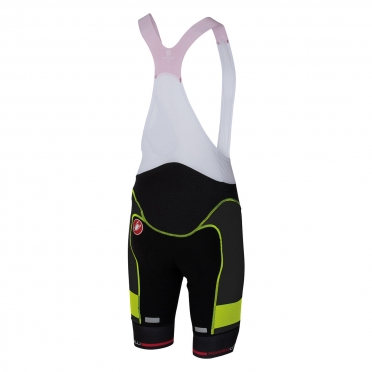 Castelli Free aero race bibshort kit version black/yellow men 16002-321