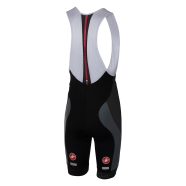 Castelli Velocissimo bibshort black/anthracite men 16003-009