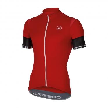 Castelli Entrata 2 jersey red men 16013-023