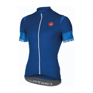 Castelli Entrata 2 jersey surf blue men 16013-057