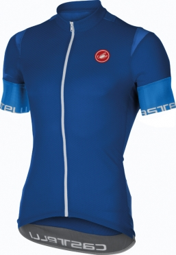 Castelli Entrata 2 jersey surf blue men 16013-057