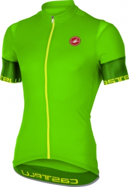 Castelli Entrata 2 jersey short sleeve green men