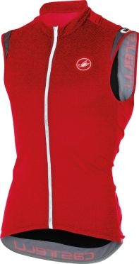 Castelli Entrata 2 sleeveless jersey red men 16014-023