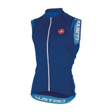 Castelli Entrata 2 sleeveless jersey blue men 16014-057